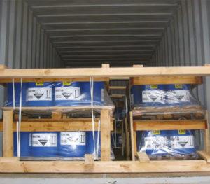 emballages pour le transport de porduits dangereux