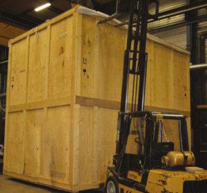 Emballage industriel et caisses bois sur mesure pour l for Canisse sur mesure