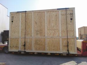 caisses sur-mesure pour l'export